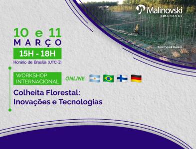 Workshop Internacional de Colheita Florestal: Inovações e Tecnologias