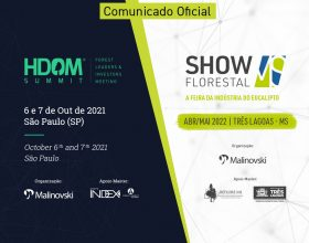 Comunicado Oficial | Datas do Hdom Summit e Show Florestal