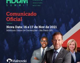 Comunicado Oficial do Hdom Summit 2021